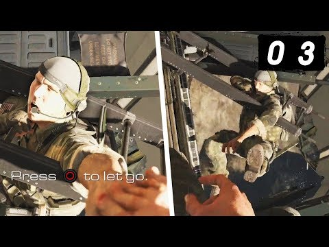 Call of Duty Ghosts Campaign - Part 3 - Rorke: Ghost Gone Bad