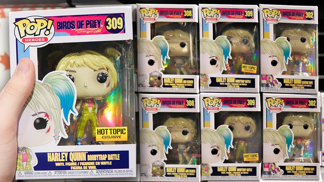 Birds Of Prey Funko Pop Hunting Youtube