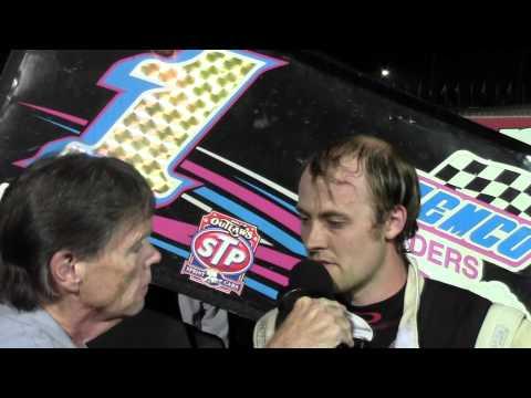 Williams Grove Speedway 410 Sprint Car Victory Lane 8-29-14