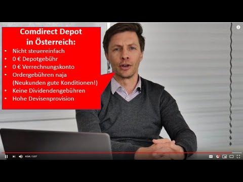 Comdirect Depot: Sinnvoll für Österreicher?