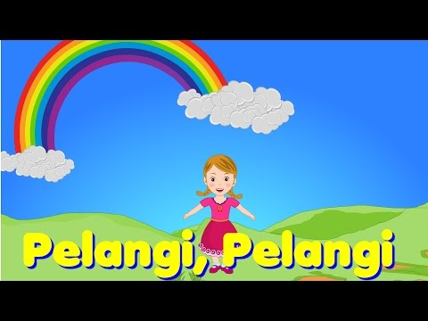 Pelangi, Pelangi | Lagu Anak TV | Rainbow Song in Bahasa Indonesia