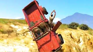 GTA V Unbelievable Crashes/Falls - Episode 06