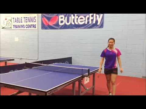 Anqi Luo's Butterfly Table Tennis Equipment