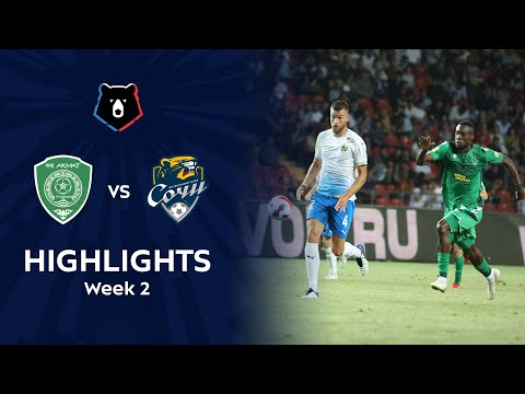 Akhmat Grozny Sochi Goals And Highlights