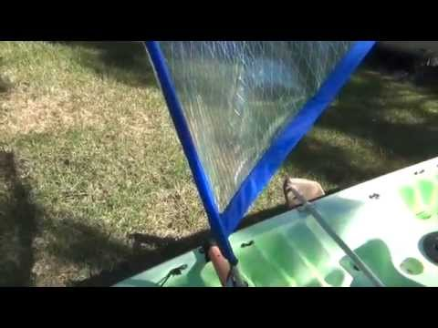 hobie kayak sail instructions