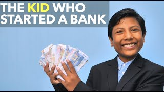 The Kid Who Started a Bank
