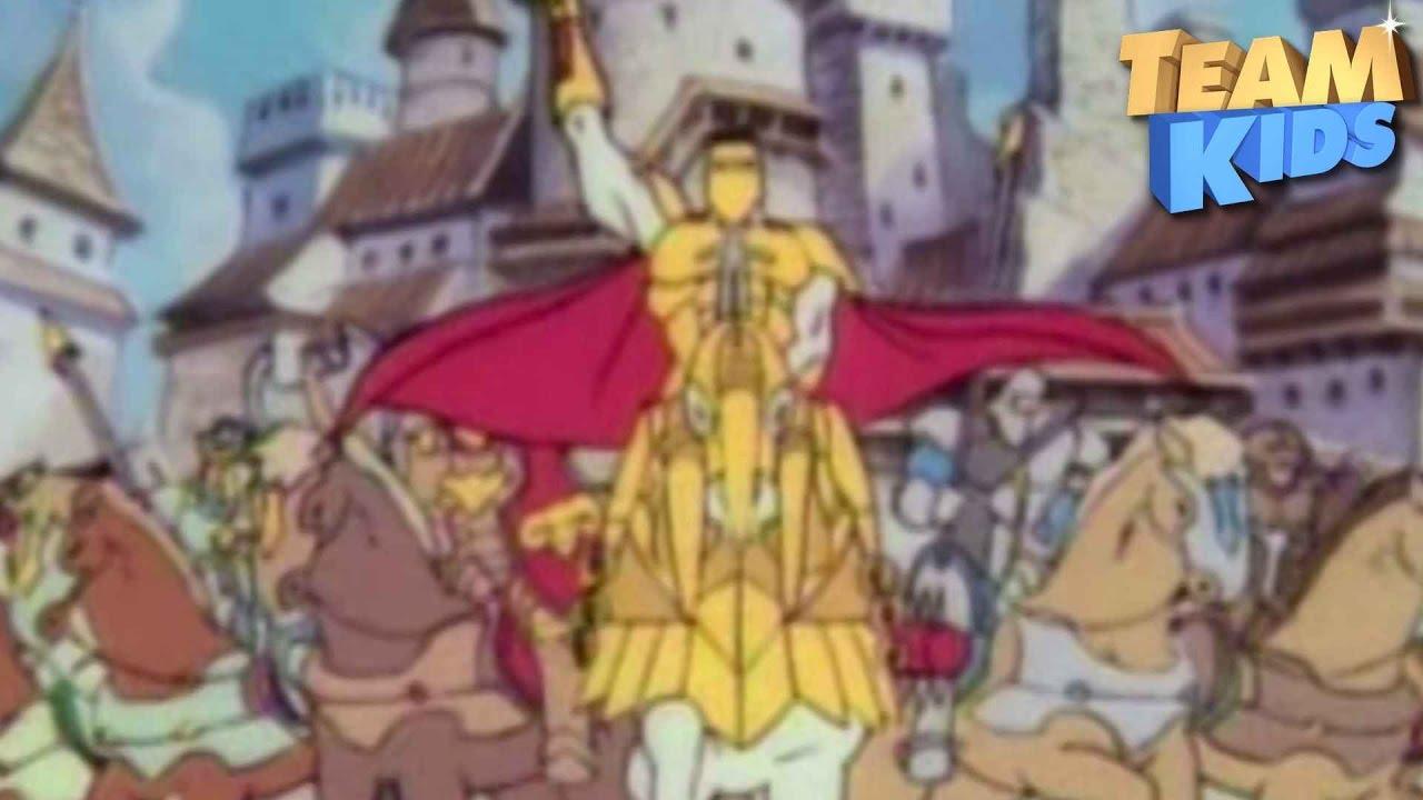 Le roi arthur et les chevaliers de justice g n rique tv - Dessin anime chevalier de la table ronde ...
