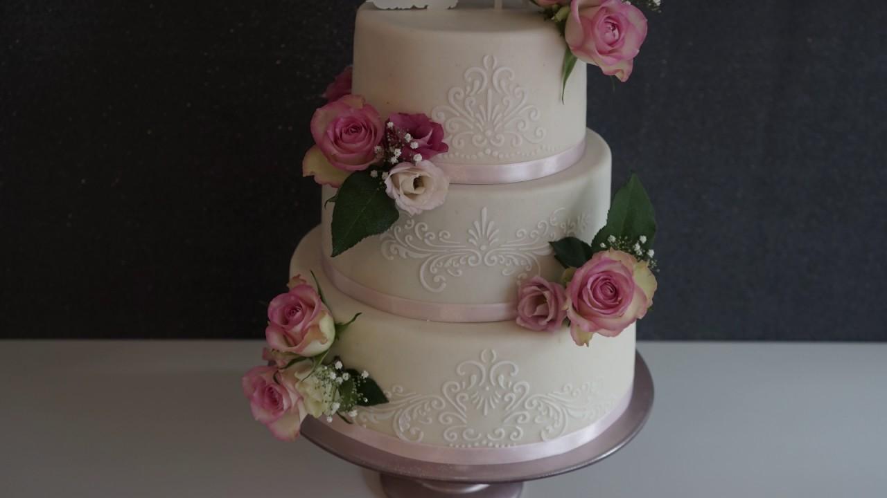 Making Of Hochzeitstorte Gluten Laktosefreie Hochzeitstorte Mit