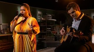 Kristin Amparo - Deep Wounds Bleed (Live) - Malou Efter tio (TV4)