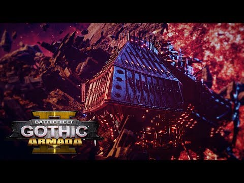 Battlefleet Gothic: Armada 2 - Chaos Campaign Let's Play - Part 24: Showdown with Spire ENDING, Hard |