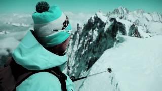Chamonix Ski:  North face Aiguille du Midi