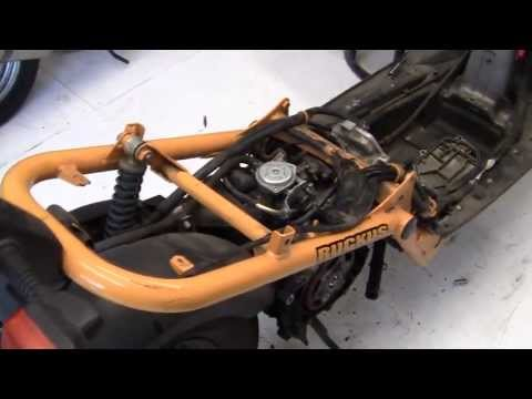 21)- PROJECT Honda RUCKUS - HOW TO= Engine COMPLETE REBUILD