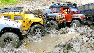 RC Trucks MUD Adventure — Hummer H1, H2, Land Rover, Toyota, Jeep — RC Extreme Pictures