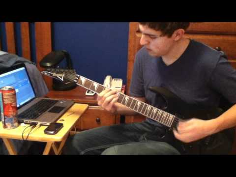 Never Again - Nickelback - Guitar Cover (With Tab & Backing Track)