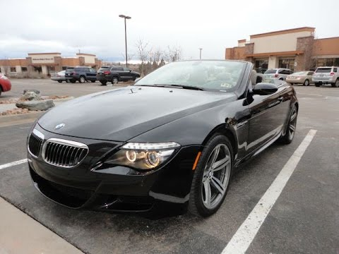 2008 BMW M6 Convertible 18k Miles Mint Condition for sale  YouTube
