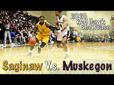 "Saginaw Trojans Vs #7 Muskegon Big Reds ""Red Hawk ShowCase 2020"""