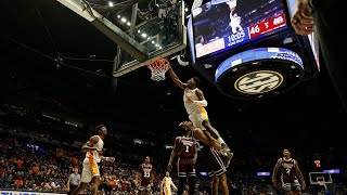 Admiral Schofield Murders a Mississippi State Player. Nasty Dunk vs Mississippi State