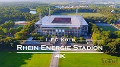 RheinEnergie Stadion  Köln 🇩🇪 - by drone [4K]