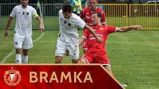 Stal Stalowa Wola - Widzew Łódź 2:0 - Druga bramka Roberta Dadoka