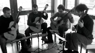 Philharmonic Guitar Quartet - Promenade 1 by Mussorgsky