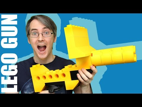 Giant LEGO HyperReality Blaster with Vive VR Tracking | XRobots