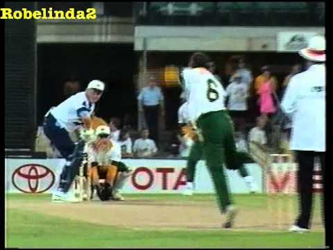 Graeme Pollock BALL BY BALL 89 (71) vs Bradmans XI 1994/95