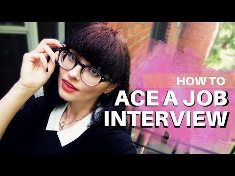 HOW TO ACE A JOB INTERVIEW // 5 Tips to Crush Any Interview