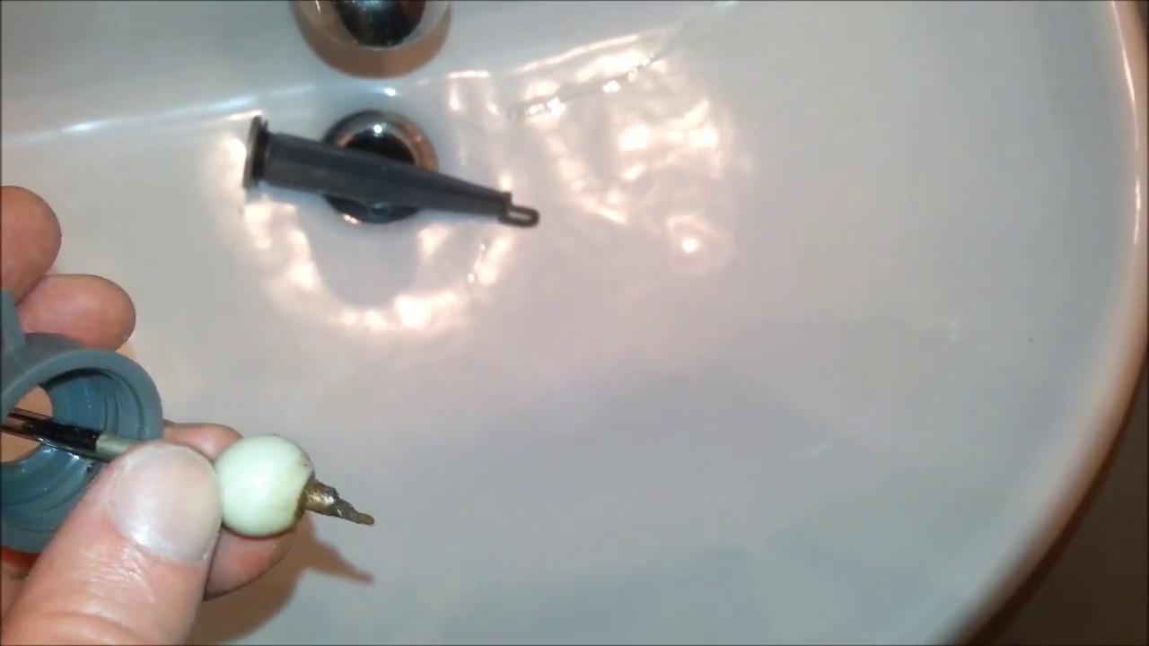 a better broken sink stopper repair