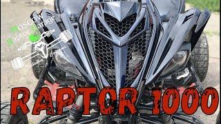 Raptor R1 на 150 сил .  Вручили владельцу после аварии.