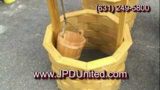 Video 33 - Wooden Decorative Wishing Well  -- Jpd United -- Wooden Outdoor Furniture