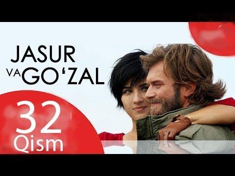 Jasur va Go'zal   Жасур ва Гузал 32 Qism Turk Seriali O'zbek Tilida YouTube