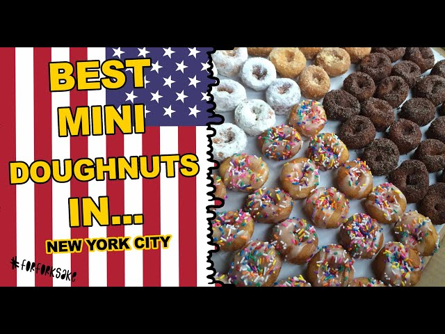 NEW YORK'S BEST DOUGHNUT - NEW YORK CITY FORK FOOD GUIDE - For Fork Sake - A Food Network