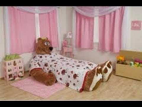 Decoracion de cuartos infantiles para ni as 1 youtube - Avitaciones de ninas ...