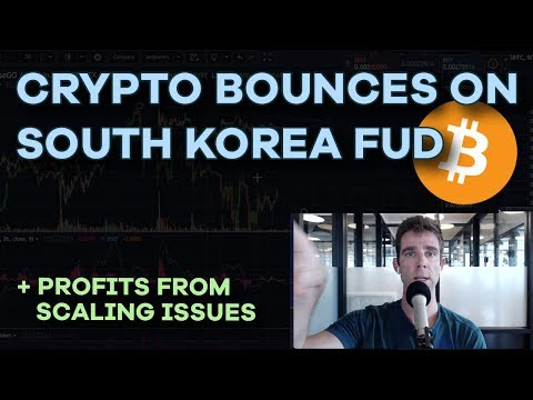 Crypto Bounces Back After South Korea FUD - Binance 240k Users/Day, Scaling, Currency, Event - Ep123
