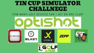 Golf Simulator Challenge - How many devices can I get on one club?