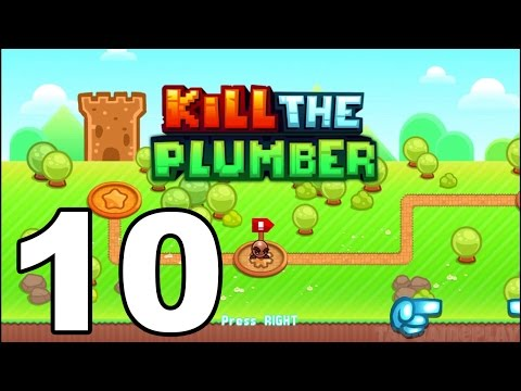 Kill the Plumber World - Gameplay Walkthrough Part 10 - World 8: Levels 109-120 (iOS, Android)