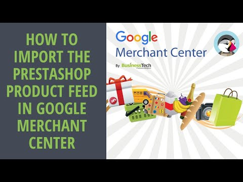 How to import my product feed in Google Shopping?