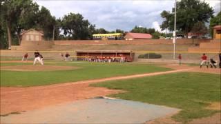 Mike Mullen strikes out Santa Fe batter #2