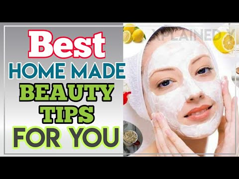 Home Made Beauty Tips For You  Xplained Y