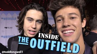 "Inside ""The Outfield"" Premiere w/Cameron Dallas & Nash Grier"