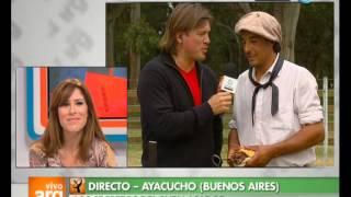 Vivo en Argentina - Bs. As. - Ayacucho - Fogón criollo - 19-03-13