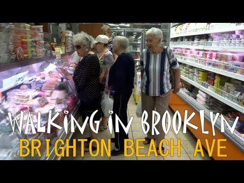 Walking in Brooklyn - Brighton Beach Avenue - part1/2
