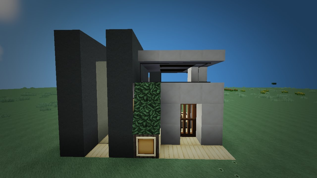 7x7 modern house tutorial