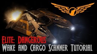 Elite: Dangerous - Wake and Cargo Scanner Tutorial [ASSIST ON]