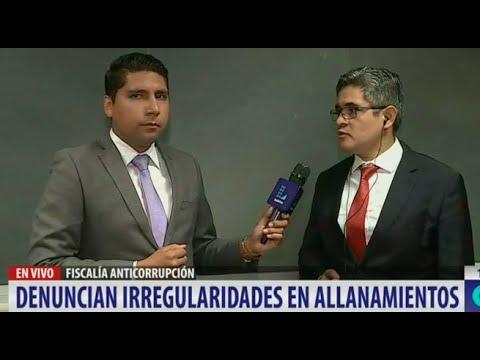 Escoltas de Pedro Chávarry retiraron evidencias de oficinas allanadas en la Fiscalía