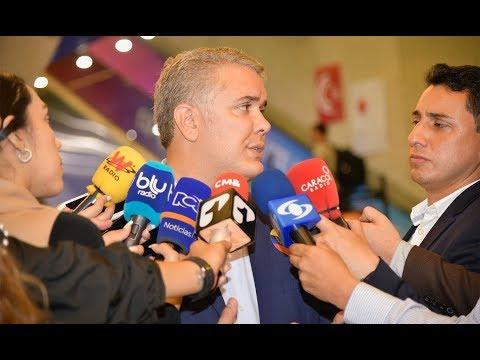 Declaración del Presidente, Iván Duque Márquez a medios en Cannes, Francia - 21 de junio de 2019