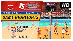 PVL RC Season 2 - WD: Angels vs. Water Defenders | Game Highlights | May 16, 2018