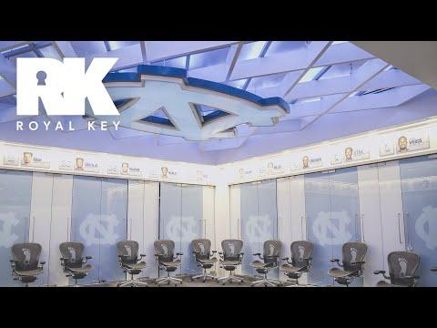 We Toured The NORTH CAROLINA TAR HEELS' BASKETBALL Facility | Royal Key | Coiski