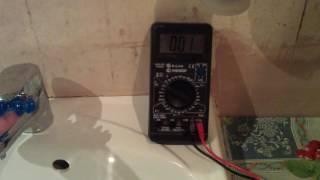 Новый источник энергии (~100 Вольт из водопровода)