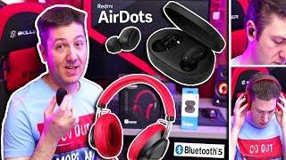 Bluetooth 5.0 ακουστικά: Xiaomi Redmi Airdots + Bluedio TM (4K)